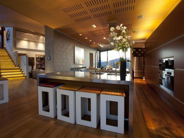 Designer home in new zealand mia dumont blog d 39 une for New zealand kitchen designs
